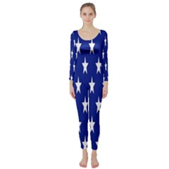 Starry Header Long Sleeve Catsuit