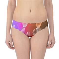 Clipart Hands Background Pattern Hipster Bikini Bottoms