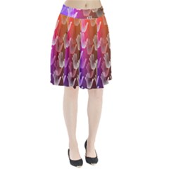 Clipart Hands Background Pattern Pleated Skirt