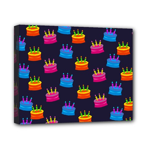 A Tilable Birthday Cake Party Background Canvas 10  x 8