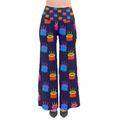 A Tilable Birthday Cake Party Background Pants