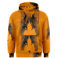 Cat Graphic Art Men s Pullover Hoodie