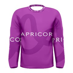Zodiac Capricorn Purple Men s Long Sleeve Tee