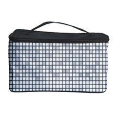 Purple Square Frame With Mosaic Pattern Cosmetic Storage Case