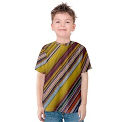 Colourful Lines Kids  Cotton Tee