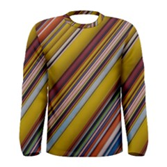 Colourful Lines Men s Long Sleeve Tee