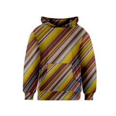 Colourful Lines Kids  Pullover Hoodie