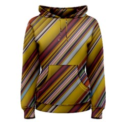 Colourful Lines Women s Pullover Hoodie