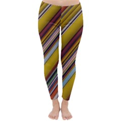 Colourful Lines Classic Winter Leggings