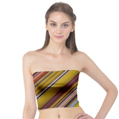 Colourful Lines Tube Top