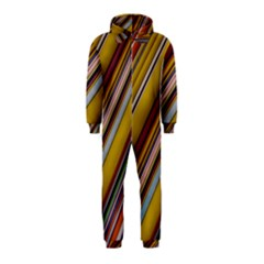Colourful Lines Hooded Jumpsuit (kids)