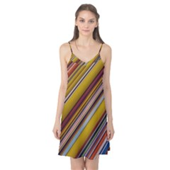Colourful Lines Camis Nightgown