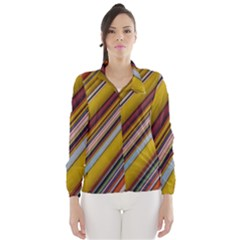 Colourful Lines Wind Breaker (Women)