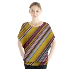 Colourful Lines Blouse