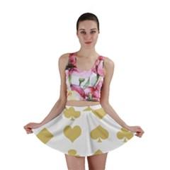 Card Symbols Mini Skirt