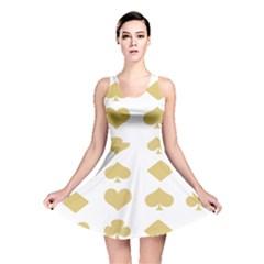 Card Symbols Reversible Skater Dress
