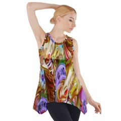3 Carousel Ride Horses Side Drop Tank Tunic