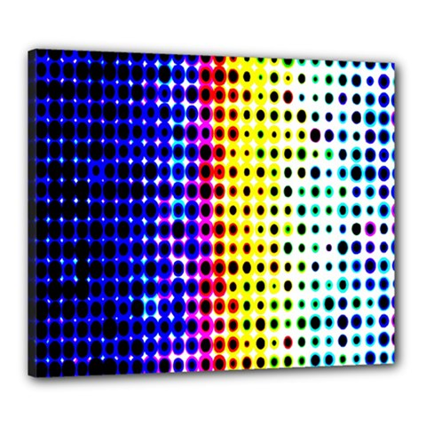 A Creative Colorful Background Canvas 24  x 20