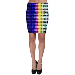 A Creative Colorful Background Bodycon Skirt
