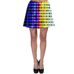 A Creative Colorful Background Skater Skirt