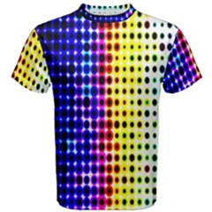 A Creative Colorful Background Men s Cotton Tee