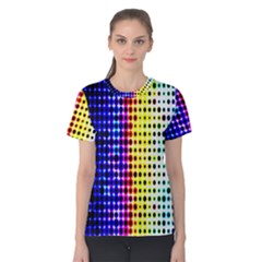 A Creative Colorful Background Women s Cotton Tee