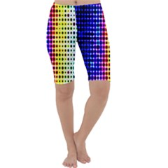 A Creative Colorful Background Cropped Leggings