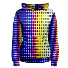 A Creative Colorful Background Women s Pullover Hoodie