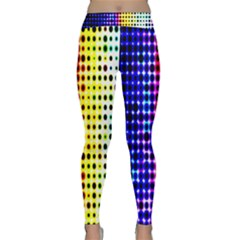 A Creative Colorful Background Classic Yoga Leggings
