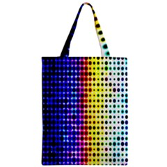 A Creative Colorful Background Zipper Classic Tote Bag