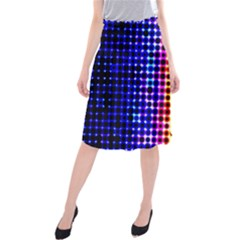 A Creative Colorful Background Midi Beach Skirt