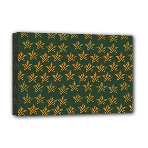 Stars Pattern Background Deluxe Canvas 18  x 12