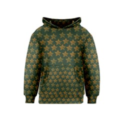 Stars Pattern Background Kids  Pullover Hoodie