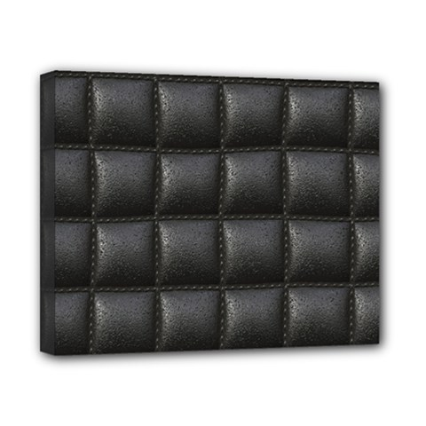 Black Cell Leather Retro Car Seat Textures Canvas 10  X 8