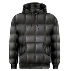 Black Cell Leather Retro Car Seat Textures Men s Pullover Hoodie