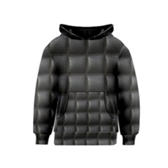 Black Cell Leather Retro Car Seat Textures Kids  Pullover Hoodie
