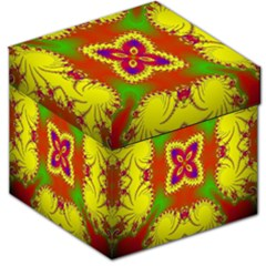 Digital Color Ornament Storage Stool 12