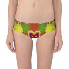 Digital Color Ornament Classic Bikini Bottoms