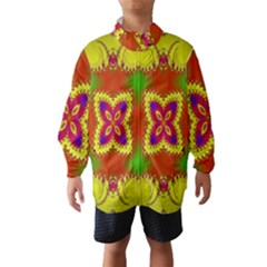 Digital Color Ornament Wind Breaker (kids)