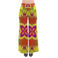 Digital Color Ornament Pants