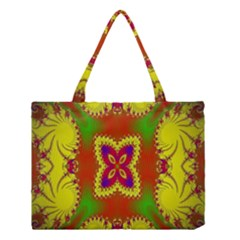 Digital Color Ornament Medium Tote Bag