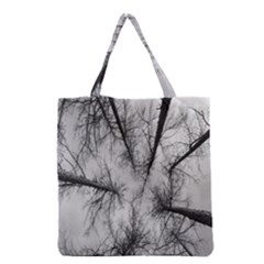 Trees Without Leaves Grocery Tote Bag