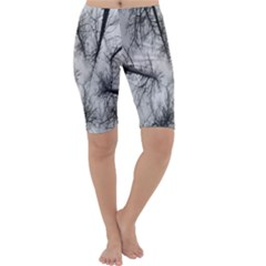 Trees Without Leaves Cropped Leggings