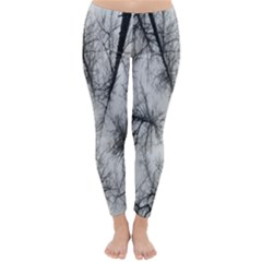 Trees Without Leaves Classic Winter Leggings