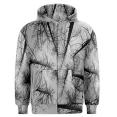 Trees Without Leaves Men s Zipper Hoodie