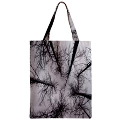 Trees Without Leaves Zipper Classic Tote Bag