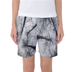 Trees Without Leaves Women s Basketball Shorts