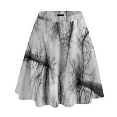 Trees Without Leaves High Waist Skirt