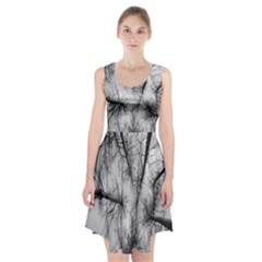 Trees Without Leaves Racerback Midi Dress