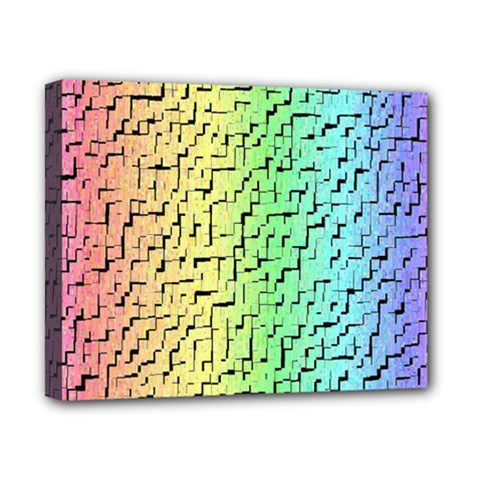A Creative Colorful Background Canvas 10  X 8